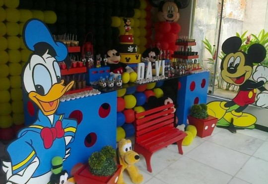 TURMA DO MICKEY MOVEIS COLORIDOS